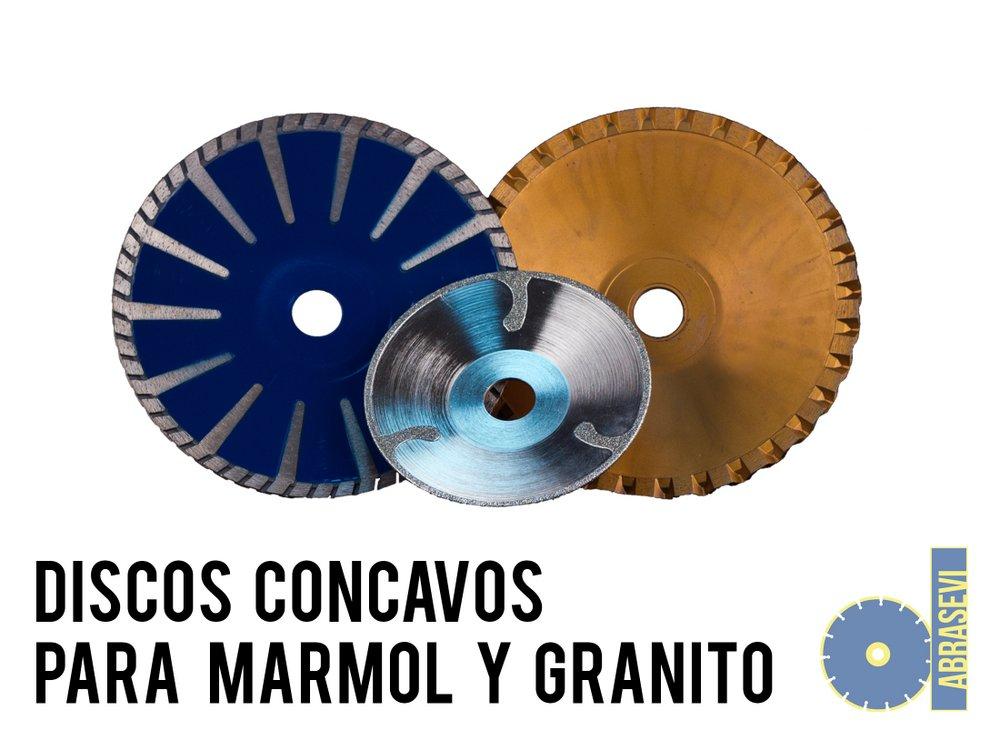 Discos Cóncavos para Mármol y Granito be771af662f2