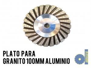 Avellanador para aluminio